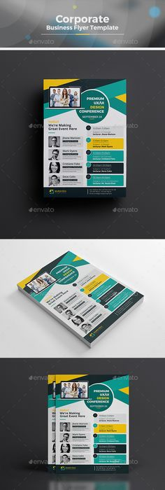 Awesome Conference Program Booklet Images  Brochure Design