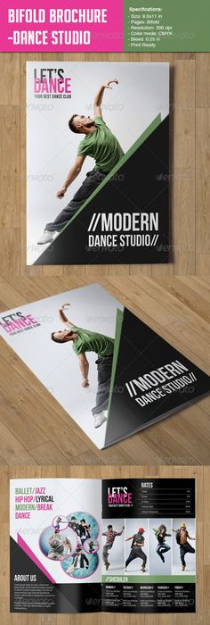 Dance Studio Brochure   Dance Studio Brochures And Dancing
