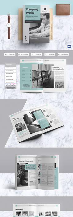 Company Profile Company profile, Portfolio design and Corporate