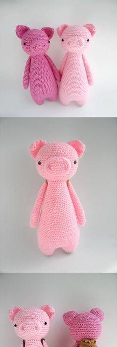 Diy Crochet Amigurumi Flamingo Patternthis Pretty Crochet Flamingo