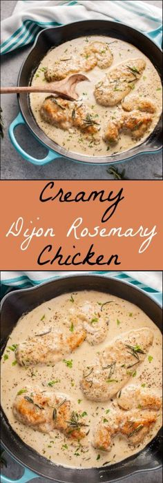 40 cozy fall dinner recipes to make all season long fall dinner creamy dijon rosemary chicken easy dinnersfood dinnersquick forumfinder Choice Image