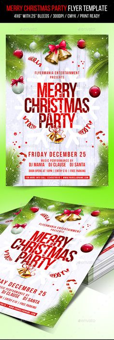 Download Christmas Holiday Free Psd Flyer Template  Free Flyer