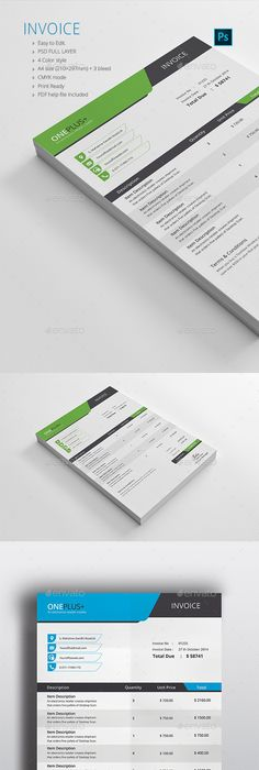 Invoice   Template  Social media template and Proposal templates Invoice     Photoshop PSD  must have  proposal     Available here        https