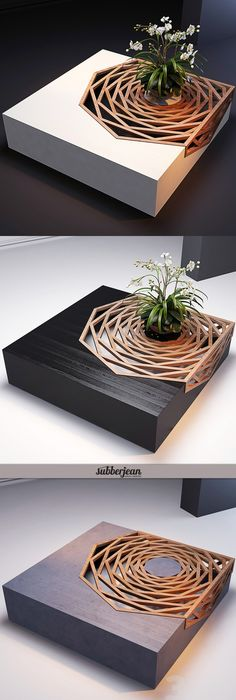 Gorgeous Design Wood Coffee Table
