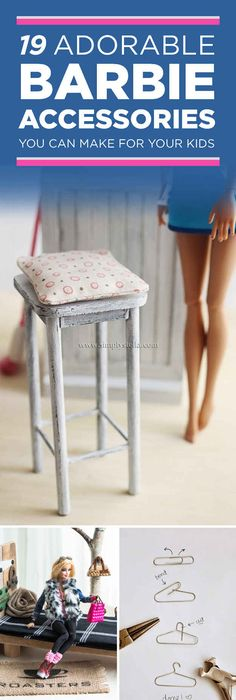 make your own doll furniture. 19 DIY Ways To Make Barbie\u0027s House Cooler Than Your Own Doll Furniture