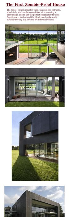 How to Burglar Proof Your Home with Minimal Expense but Efficiently Zombie Proof House Designs on guard house design, zombie apocalypse house, oban & 2 by agushi workroom design, zombie cakes design, best underground bunker design, minecraft hut design, defensive house design, home design, fortified house design, modern bunker design, minimal house design, coach house design, native house design, earthquake proof house design, hurricane proof house design, underground concrete house design, zombie protection house, earthquake resistant building design,