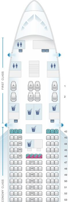 More Seating In Small Living Room: SeatGuru Seat Map Malaysia Airlines Airbus A330-300 (333