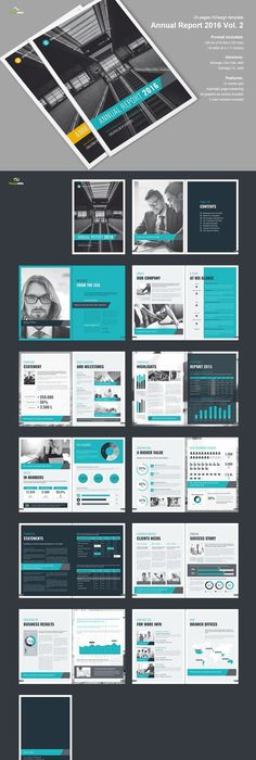 aminulv  I will design book, ebook interior or layout for $10 on - annual report template design