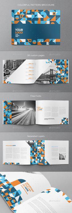 Brochure Design Bi Fold Brochure Brochure Template Corporate