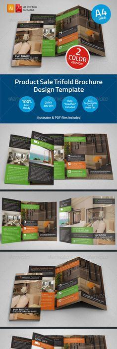 Interior Arts Trifold Brochure Template Brochure Template