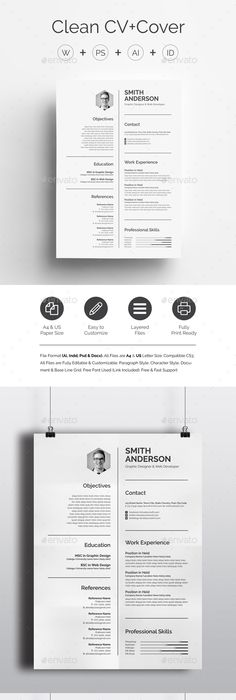 Resume Template Template, Icons and Cv template - professional cv writing samples