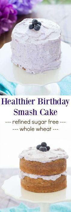 Recipe Babys First Healthy Cake Recipe Healthy birthday