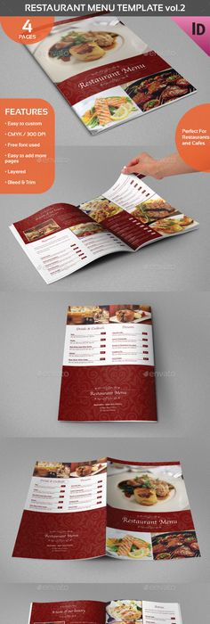 Retro Diner Menu Diner menu, Menu and Menu templates