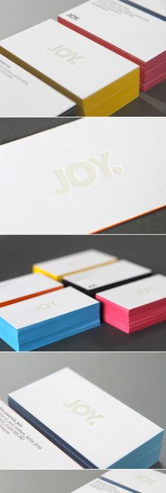 Pin by colour tech marketing on painted edge business cards we love a colored edge again same card different colours colourmoves Image collections