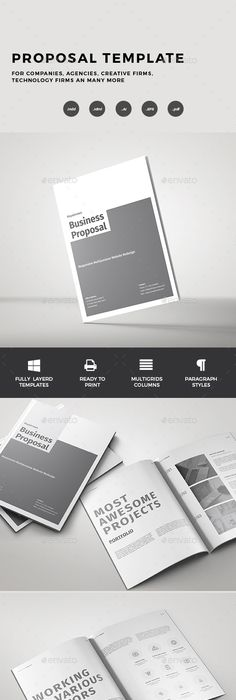Graphic Design Proposal Template Dynamic Project Proposal Pack The