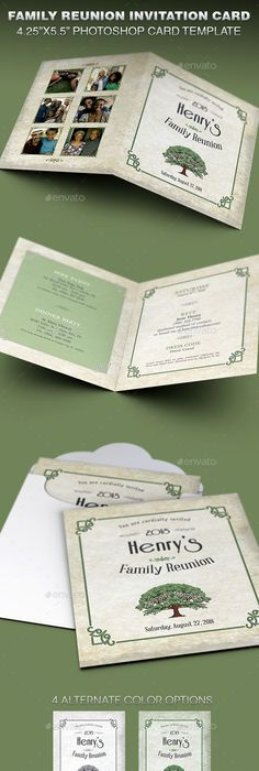 Family Reunion Invitation Templates  Free Psd Invitations