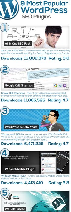 most effective seo techniques for wordpress site infographic