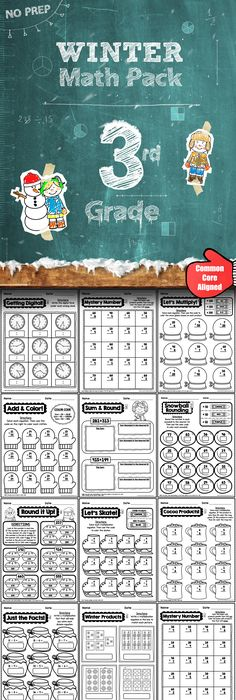 Kindergarten Math Worksheets: And 3 more makes | Worksheets, Common ...