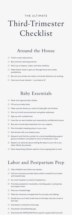 The Best Baby Registry Checklist  Baby Registry Checklist Baby