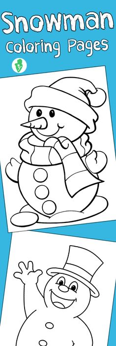 Top 25 Free Printable Winter Coloring Pages Online Snowman, Santa - best of coloring pages fall and winter
