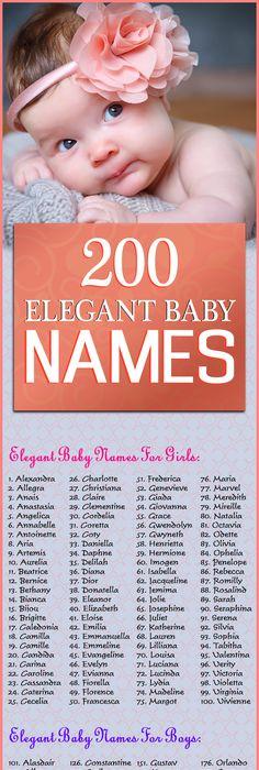 Elegant Baby Girl Names | POPSUGAR Family