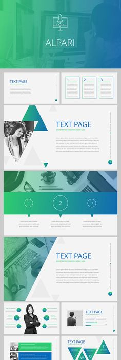 Business professional powerpoint template toneelgroepblik