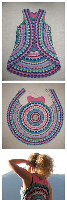 The Molly Poncho, free pattern by Stacey of Stacey Daze. Pretty ...