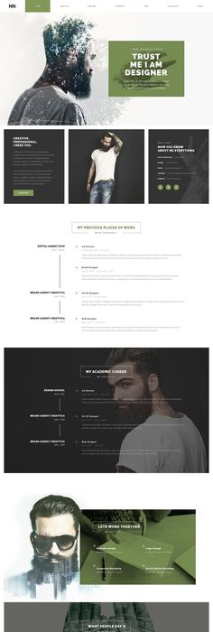 Best Resume Website Templates Kaster — Multipurpose Creative Agency Personal Portfolio Modern .