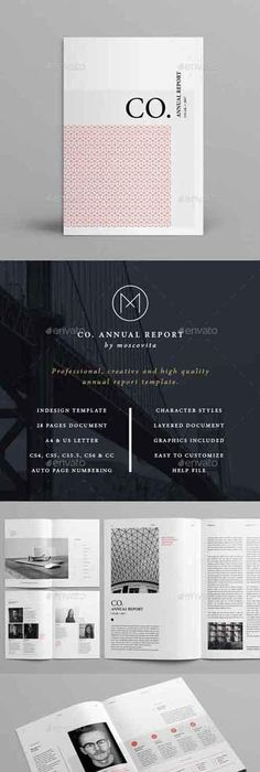 annual report annual reports graphics and template