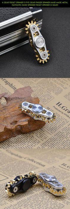 9 Nine Gear Fid Spinner Gear Teeth Linkage Fid Toy Metal BRASS