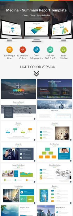 Image from   desiznworld/wp-content/uploads/2014/11 - Summary Report Template