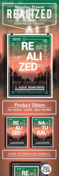 Summer Event Flyer / Poster Vol5 Event flyers, Flyer template and - editable poster templates