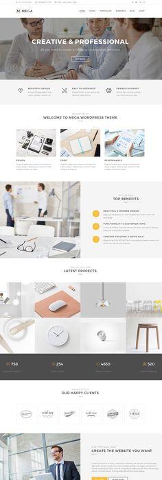 Argenta - Creative Multipurpose WordPress Theme | Wordpress, Layouts ...