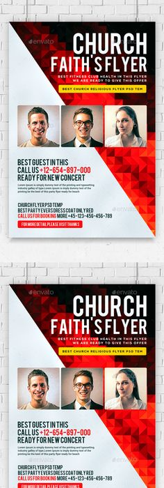 flyers for church