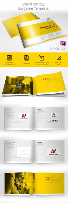 Brand Identity Guidelines Template Graphicriver Templates