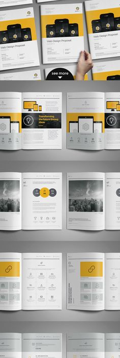 Web Proposal By Paulnomade  Proposals A And Newspaper