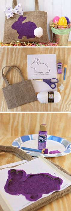 17 diy easter gift ideas for friends bunny easter and craft 17 diy easter gift ideas for friends negle Images