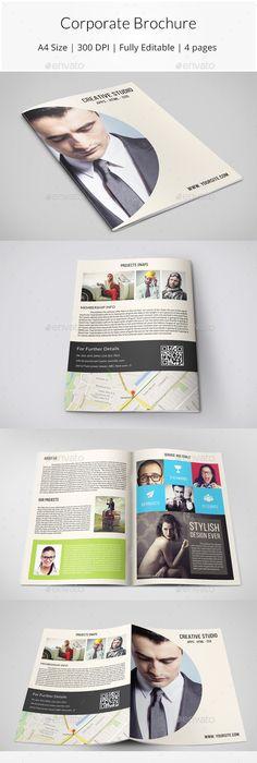 Multicolor Annual Report - Informational Brochures | Brochure ...