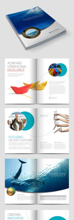Corporate Brochure 21 Brochures Annual Reports And Printing