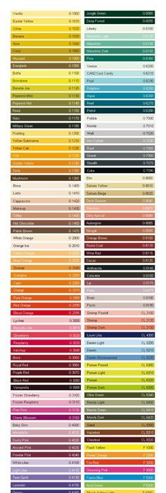 Color Chart Pantone / PMS landscape paibting Pinterest Colour - ral color chart