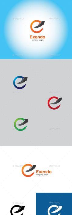 Envision - E Letter Logo -    graphicpick downloads envision - new zulu formal letter format