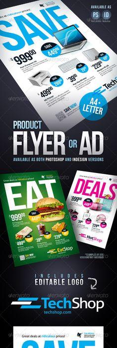 Product Flyers Sample Design  Design Sample    Brochures