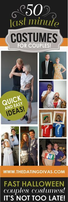 Halloween Costume Ideas for Couples 150+ Couple + Family Costumes - halloween costume ideas from your closet