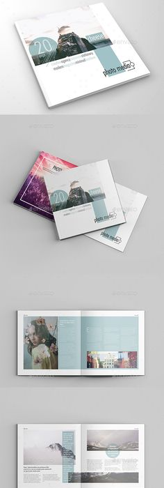 Design Attractive Book Layout  Brochures Template And Catalog