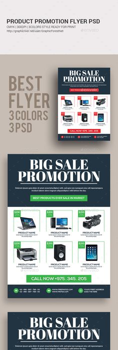 Product Promotion Flyer Print Templates  Flyer Printing Print