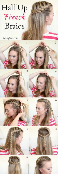 18 Easy Running Late Hairstyles for School | Running late hairstyles ...