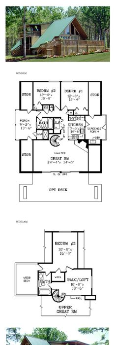 A Frame Style COOL House Plan ID  chp 20937   Total Living Area  810     A Frame Style COOL House Plan ID  chp 20937   Total Living Area  810 sq   ft   1 bedroom   1 bathroom  Lovely Design  Open Floor Plan  Great Room wi