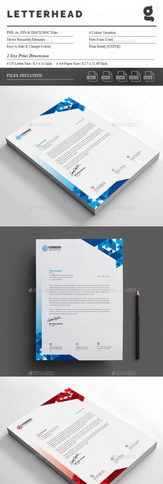 Letterhead design template psd vector eps ai ms word letterhead letterhead design template psd vector eps ai ms word letterhead design templates pinterest letterhead design template and stationery printing spiritdancerdesigns Image collections