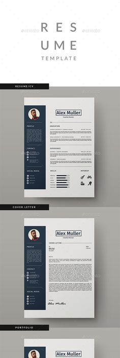Resume  Template Cv Template And Resume Ideas