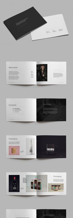 A4 Photography Portfolio Brochure Template InDesign INDD - 28 Pages ...